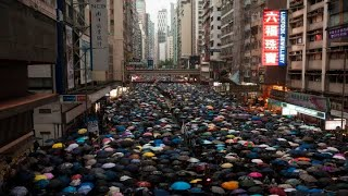 Latest Hong Kong Protesters Rallied Peacefully In Calm Weekend Protest