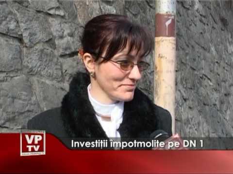 Investiţii împotmolite pe DN1