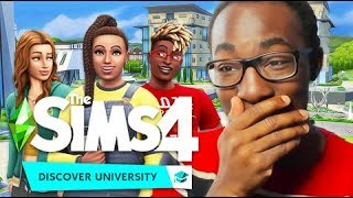 University Student Reacts to The Sims 4: Discover University