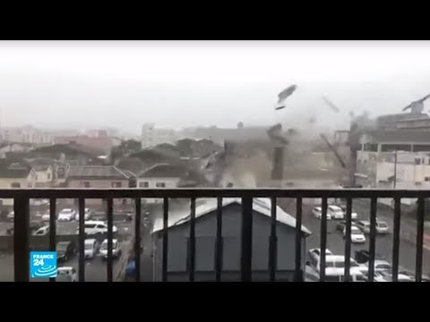 العرب اليوم - شاهد: إعصار