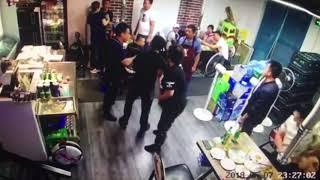 2 băng nhóm Trung Quốc đánh nhau dã man khi đang ngồi nhậu .