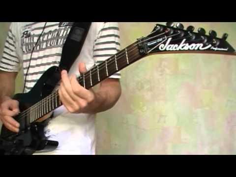 Ария - Ангельская пыль (Guitar cover & vocal (Jugulator))