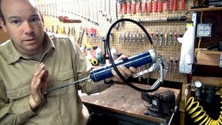 How to Load a Grease Gun Cartridge Video