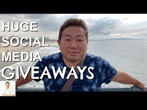 HUGE Social Media Giveaways | Grand Prize: 2 Plane Tickets
