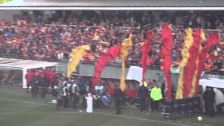 preview picture of video 'Superbe avant match Lens-Brest + la lensoise'