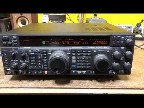 Yaesu Ft 1000mp Mark V Field Xcvr Extras Live And Online Auctions On Hibid Com