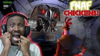 I'M THE BIGGEST CHICKEN ON YOUTUBE   FNAF Parody 'CLUCK YEGGER'    Cluck Yegger Night 1 & 2