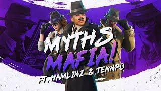 NEW DETECTIVE SKINS! Myths Mafia ft. Hamlinz & FaZe Tennp0 (Fortnite BR Full Match)