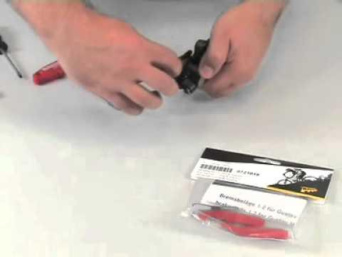 How to change MAGURA Gustav M brake pads