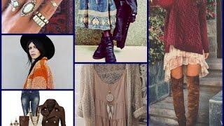 Boho Outfit Ideas - Fall\Winter Fashion Tips