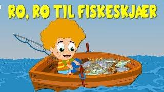 Ro, ro til fiskeskjær  | Barnesanger på norsk