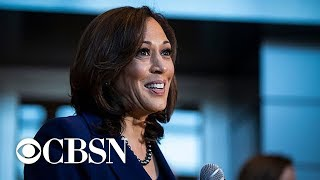 2020 Democratic field grows as Kamala Harris announces candidacy