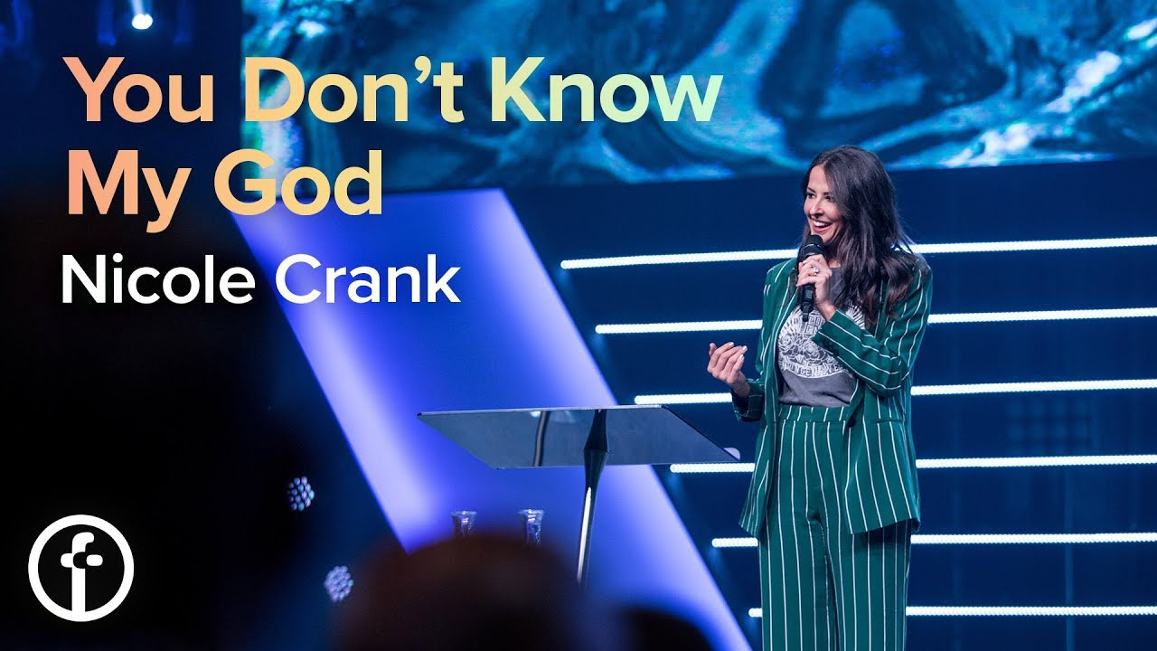 You Don't Know My God  by  Pastor Nicole Crank