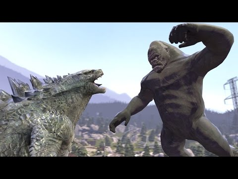 Godzilla Vs. Kong But Not Really...[SFM]