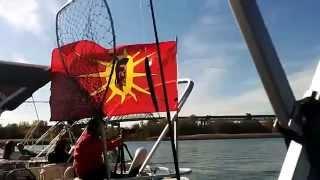 REPLAY: (2) Manif en bateaux sur le St-Laurent #FlushGate #IndigenousDay - #99MEDIA