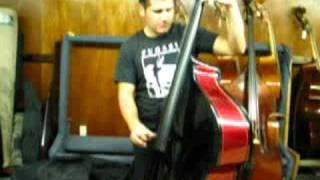 Jesse Rauda Rocking Out At FMI Bass Shop In Pasadena, CA