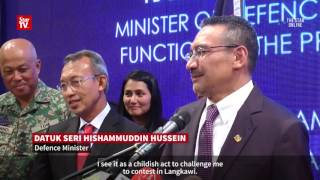 Hisham dismisses Dr M