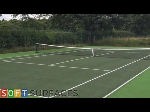 Outdoor Sports Surface Clean & Paint in Glasgow, Scotland | Clean & Paint Job