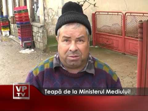 Ţeapă de la Ministerul Mediului!