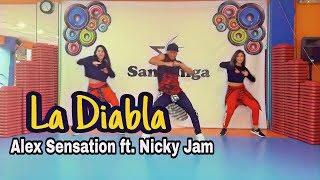 La Diabla   Alex Sensation, Nicky Jam Coreografia #Zumba
