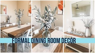 Formal Dinning Room Decor | Farmhouse Dinning Room Decor | HazFam