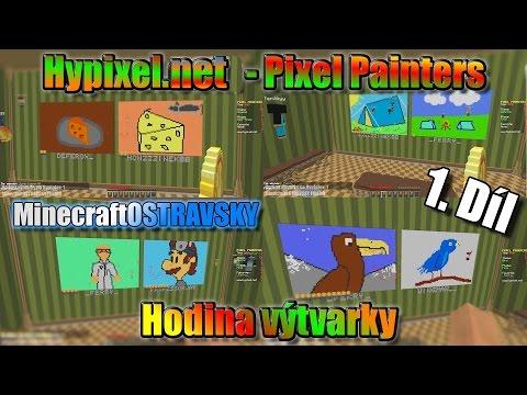 #1 | Hodina výtvarky - Hypixel.net |Tak se pustíme do kreslení | MinecraftOSTRAVSKY | [FULLHD]
