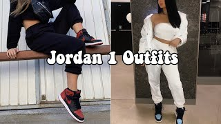 ✨Jordan 1 Outfits-HOW TO STYLE JORDAN 1s BADDIE OUTFIT COMPILATION✨