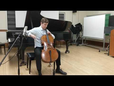 Bach: Suite No. 6 for Cello in D Major- Allemande