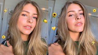 easy & glowy summer makeup look