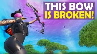 THIS BOOM BOW IS BROKEN   ARENA HIGH KILL FUNNY GAME - (Fortnite Battle Royale)