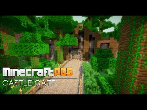 Fast Castle Gate Fence Gate Remake Minecraft Minecraft Project