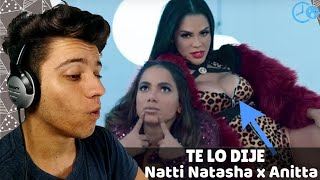Natti Natasha X Anitta   Te Lo Dije REACTION  REACCION