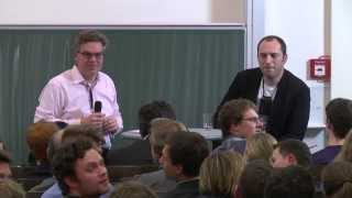 Campus Lecture (Jan Koum, Founder of WhatsApp & Stefan Winners) | DLD14
