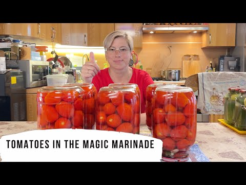 , title : 'Tomatoes in the Magic Marinade.