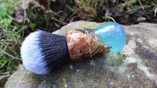 Making a Custom Aurora Shaving Brush
