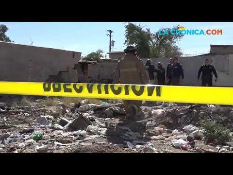 Dos heridos en derrumbe de barda en la colonia Vicente Guerrero