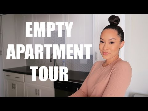 EMPTY APARTMENT TOUR | Marie Jay