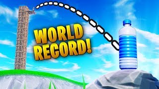 #1 WORLD Bottle Flip RECORD!! - Fortnite Funny WTF Fails and Daily Best Moments Ep.1301