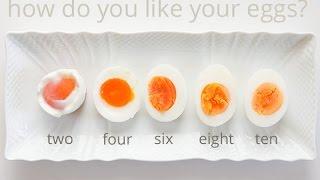 How to Make Perfect Soft Boiled Egg | Half Boiled Egg | 半熟煮卵おむすび | 温泉玉子の作り方