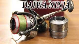 Катушка daiwa ninja 4012 a