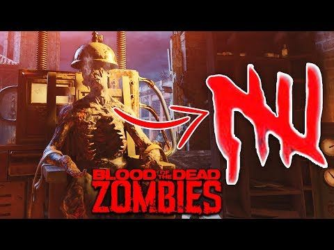 BLOOD OF THE DEAD EASTER EGG ON ROUND 5: EARLY ROUND STRATEGY (Black Ops 4  Zombies Easter Egg) - MrDalekJD