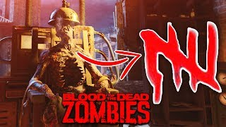 BLOOD OF THE DEAD EASTER EGG ON ROUND 5: EARLY ROUND STRATEGY! (Black Ops 4 Zombies Easter Egg)