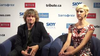 Lauren Lee Smith & Terry Miles - 'Cinemanovels' Tribute.ca Interview