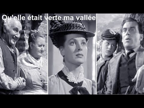 Qu'elle était verte ma vallée 1941 (How Green Was My Valley) - Film réalisé par John Ford