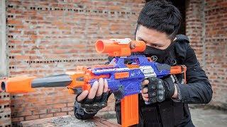 LTT Game Nerf Guns : Nerf Guns Game | MEGA Nerf Guns SEAL X Attack Crime group