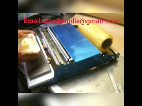 Manual Cling Film Sealing Machine