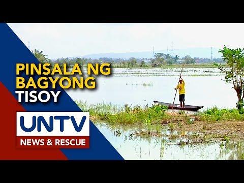 [UNTV]  Mahigit sa P257-M, halaga ng pinsala ng bagyong Tisoy sa agrikultura ng Camarines Sur