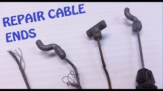 Cable Fix Solder New End On ANY Cable