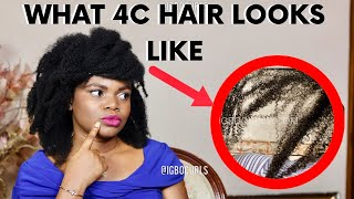 What Does 4c Hair Look Like  What Is 4c Natural Hair   EVERYTHING YOU NEED TO KNOW ABOUT 4C HAIR