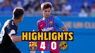 ⚽️🎥 HIGHLIGHTS |  Barça 4-0 Nàstic (FIRST MATCH OF PRE SEASON!)